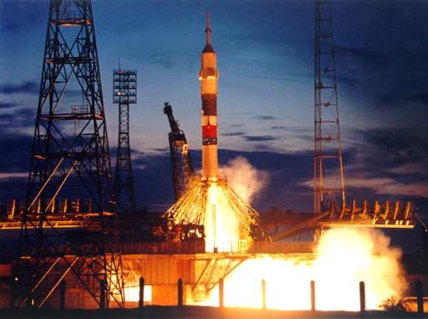 C космодрома «Байконур» на «Союз МС – 03» на МКС отправился новый экипаж