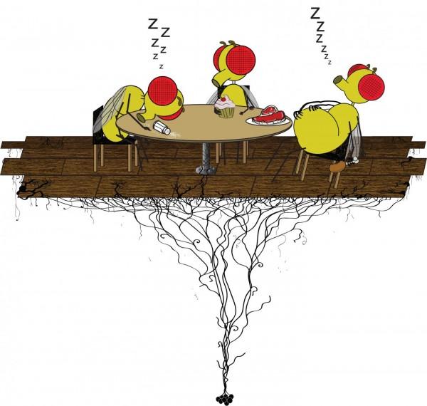 Ученые выяснили причины возникновения сонливости после еды