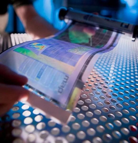 Корейцы смогли установить на ткань OLED-дисплей