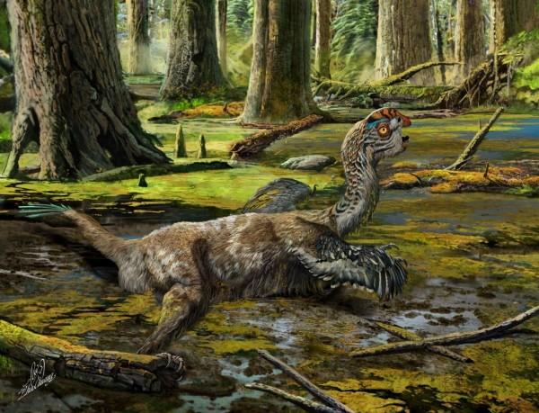Рабочие в Китае случайно обнаружили окаменелости динозавра