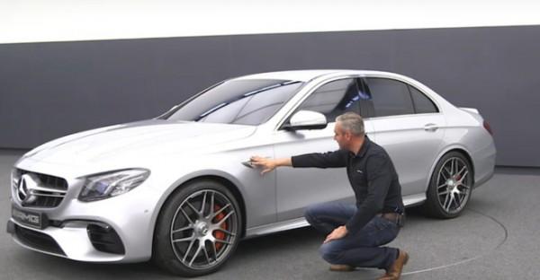 Рассекречен дизайн нового Mercedes-AMG E63 S
