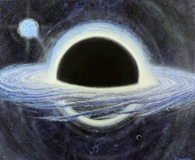 Учёные: В центре Млечного Пути находится тёмная материя