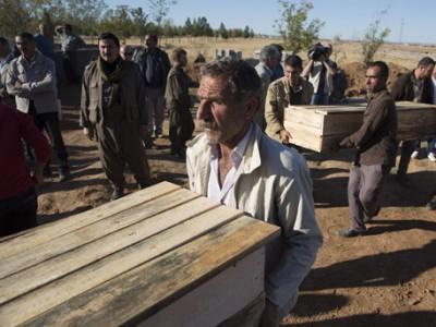 Невдалеке от Мосула нашли массовые захоронения
