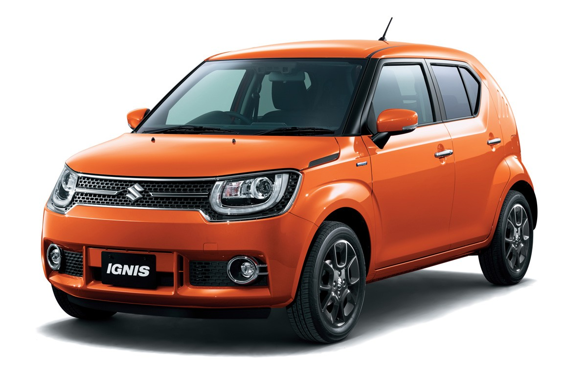 Suzuki представила новую модель Ignis 2016