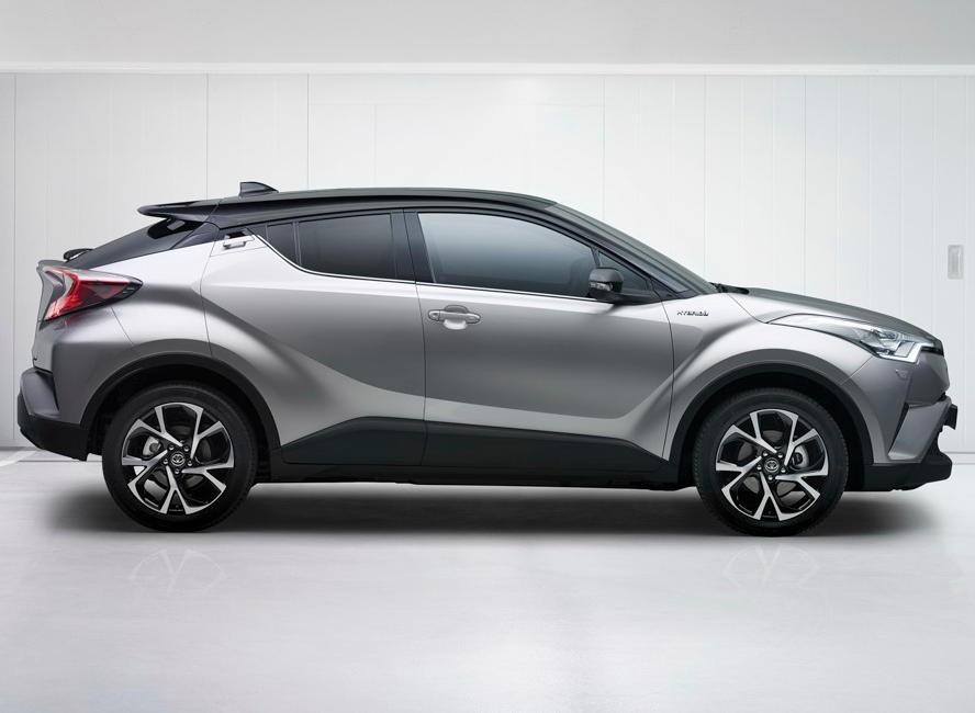Toyota может привезти в Россию компактный кроссовер CH-R