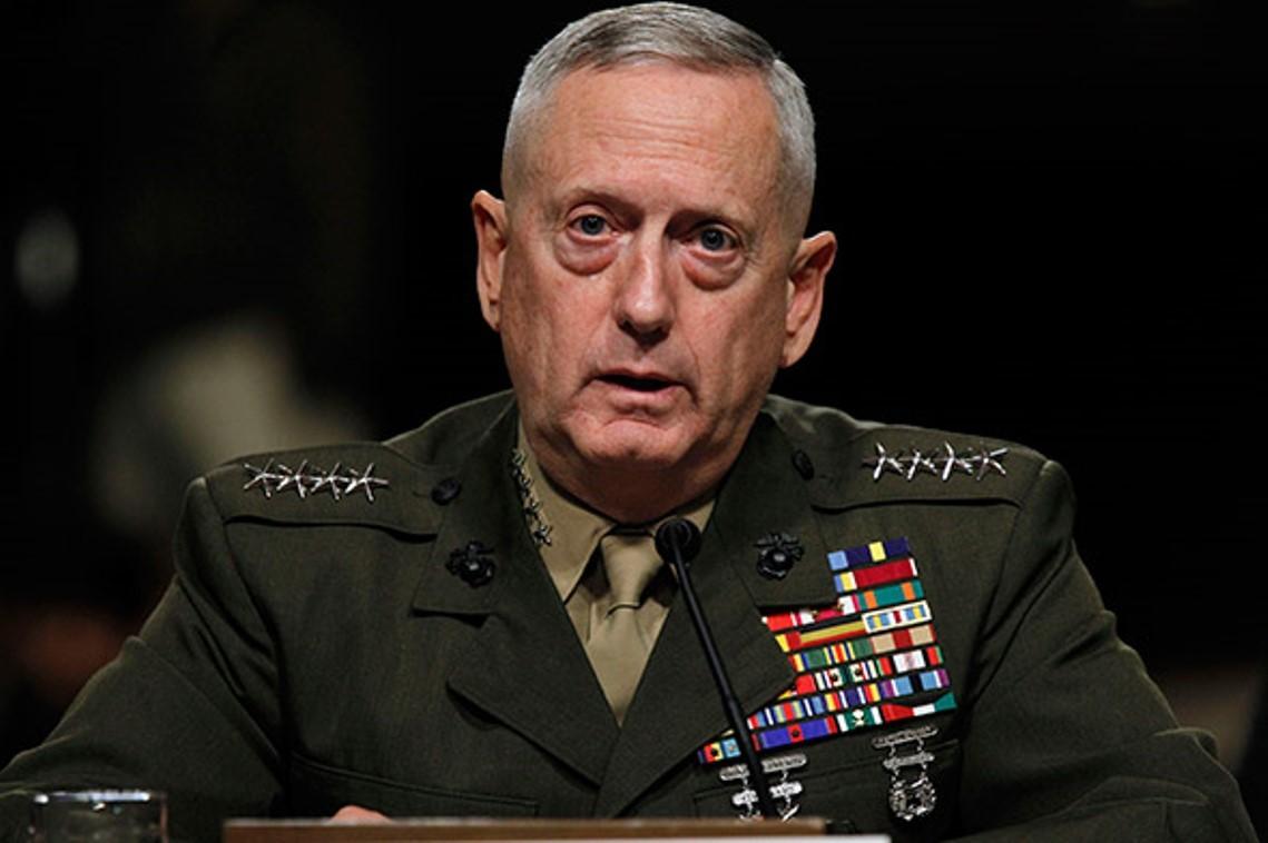 Новым главой Пентагона будет генерал Джеймс Маттис