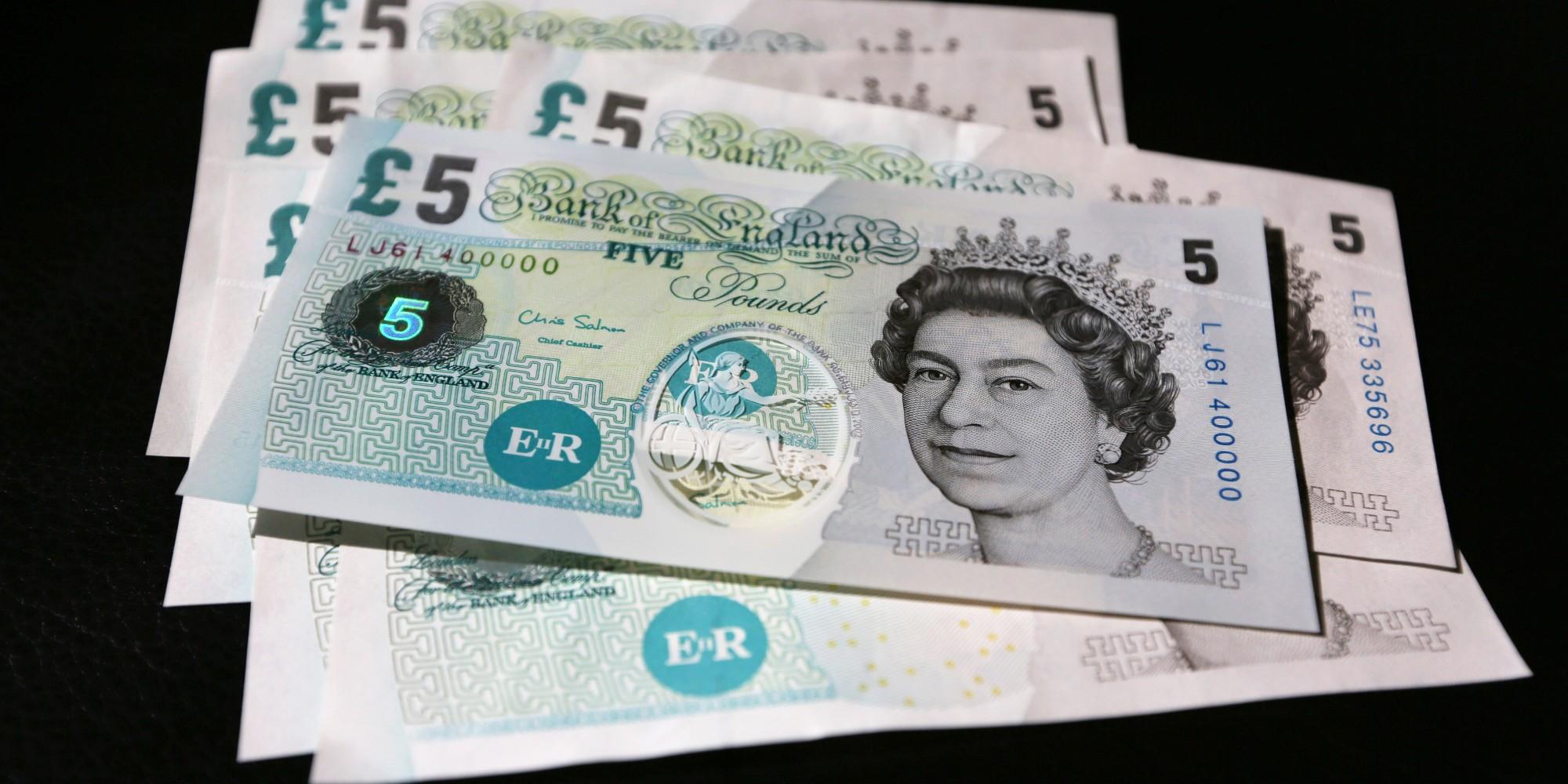 Вегетарианское кафе вКембридже отказалось принимать новые купюры в £5