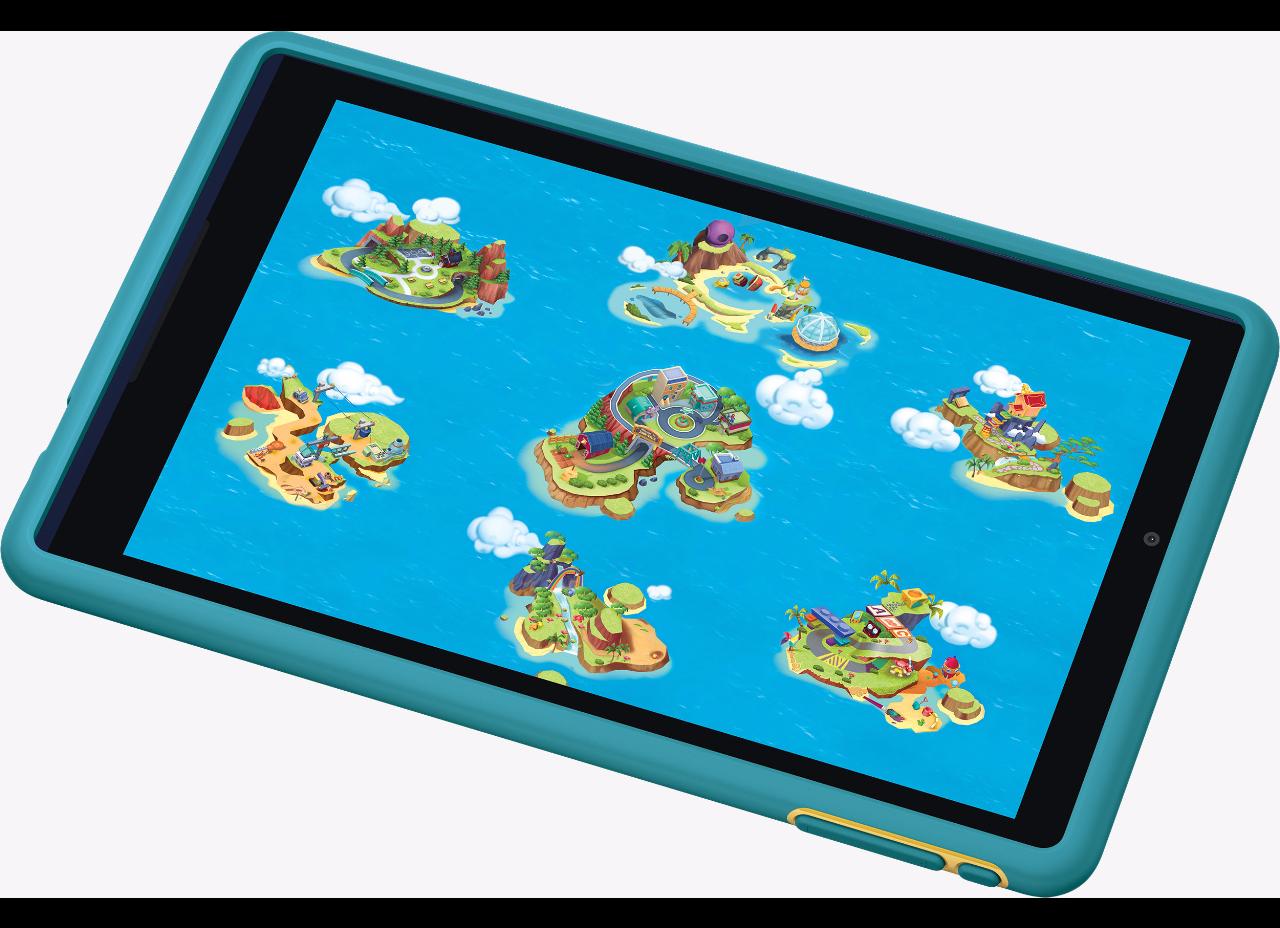 Представлен детский планшет GizmoTab отVerizon