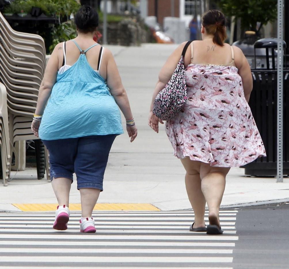 Практически половина людей сизбыточным весом непонимают данного