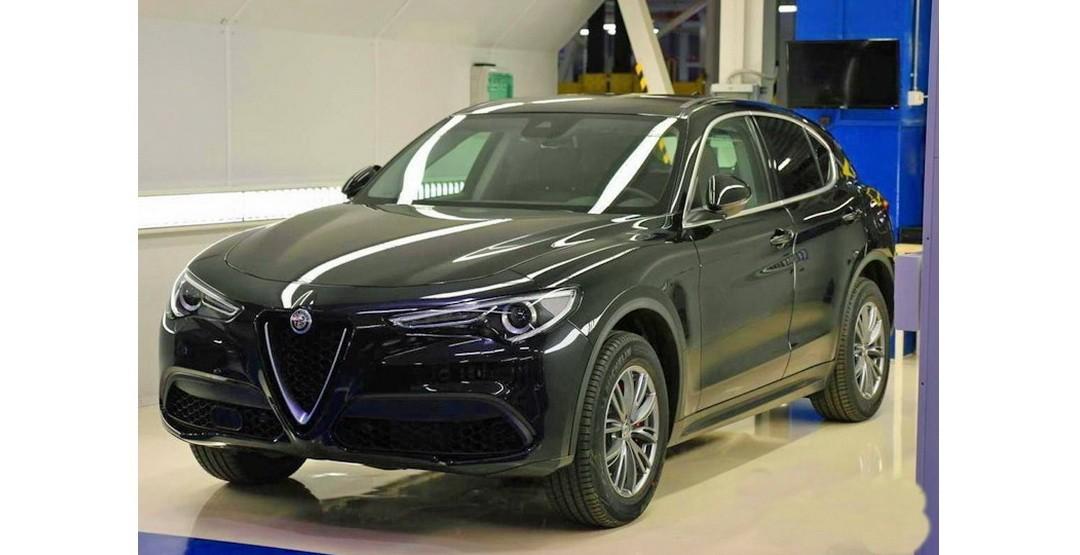 Размещены фото первого джипа Alfa-Romeo