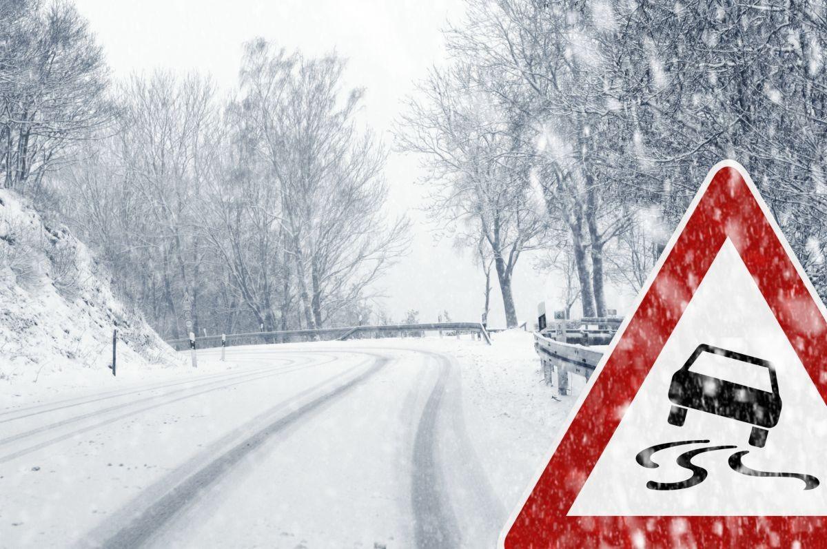 В столице объявили штормовое предупреждение из-за метели игололедицы