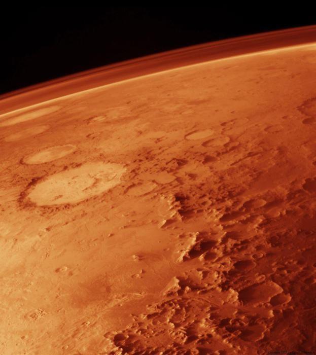 Специалисты: глобальное потепление уничтожило жизнь наМарсе