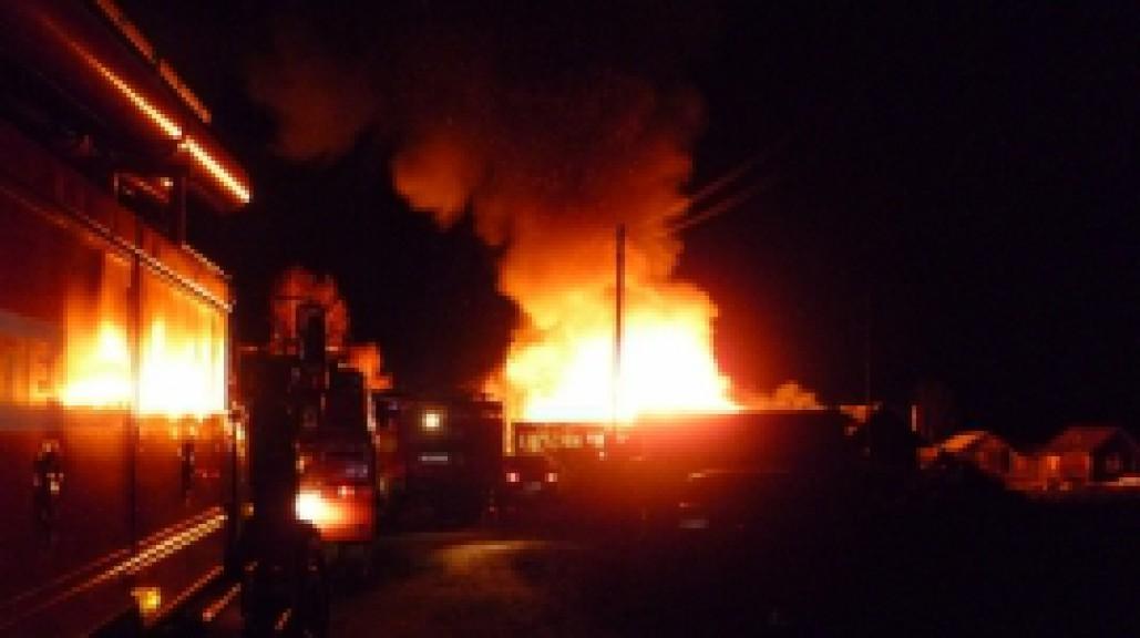 4 человека сгорели живьем в личном доме вСыктывкаре