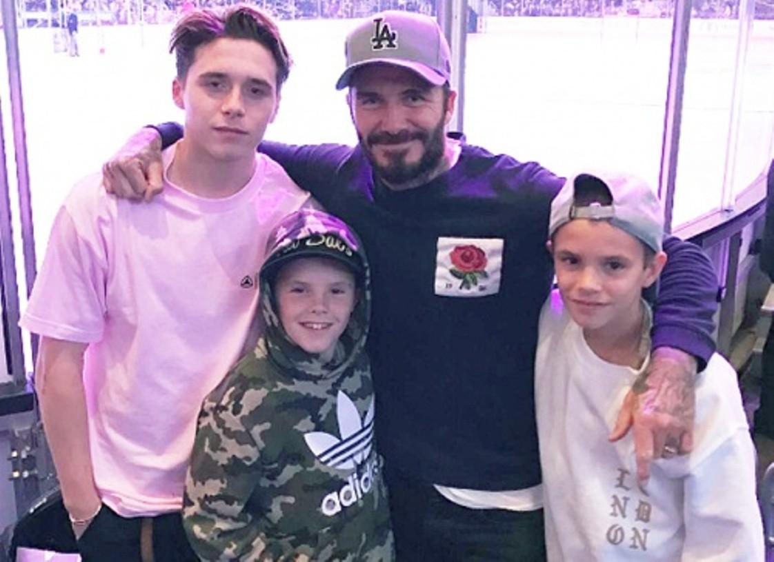 Младший сын Дэвида иВиктории Бекхэм Круз завел особый аккаунт в социальная сеть Instagram