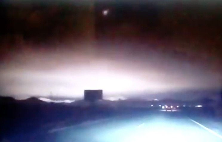 Взорвавшийся над Хакасией метеорит признали маленьким и неопасным