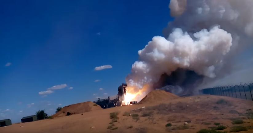 Всети интернет появилась запись неудачного запуска ракеты комплекса С-300П