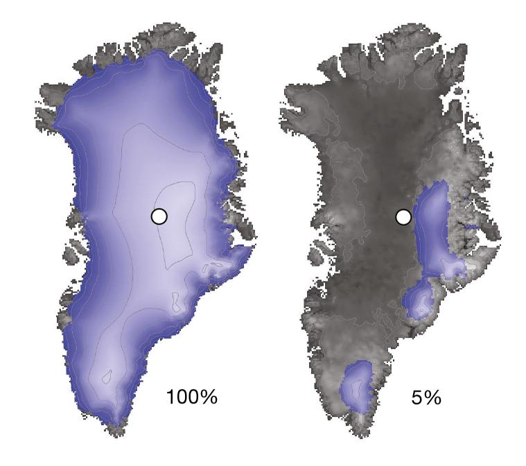Ученые: когда-то вГренландии небыло льда
