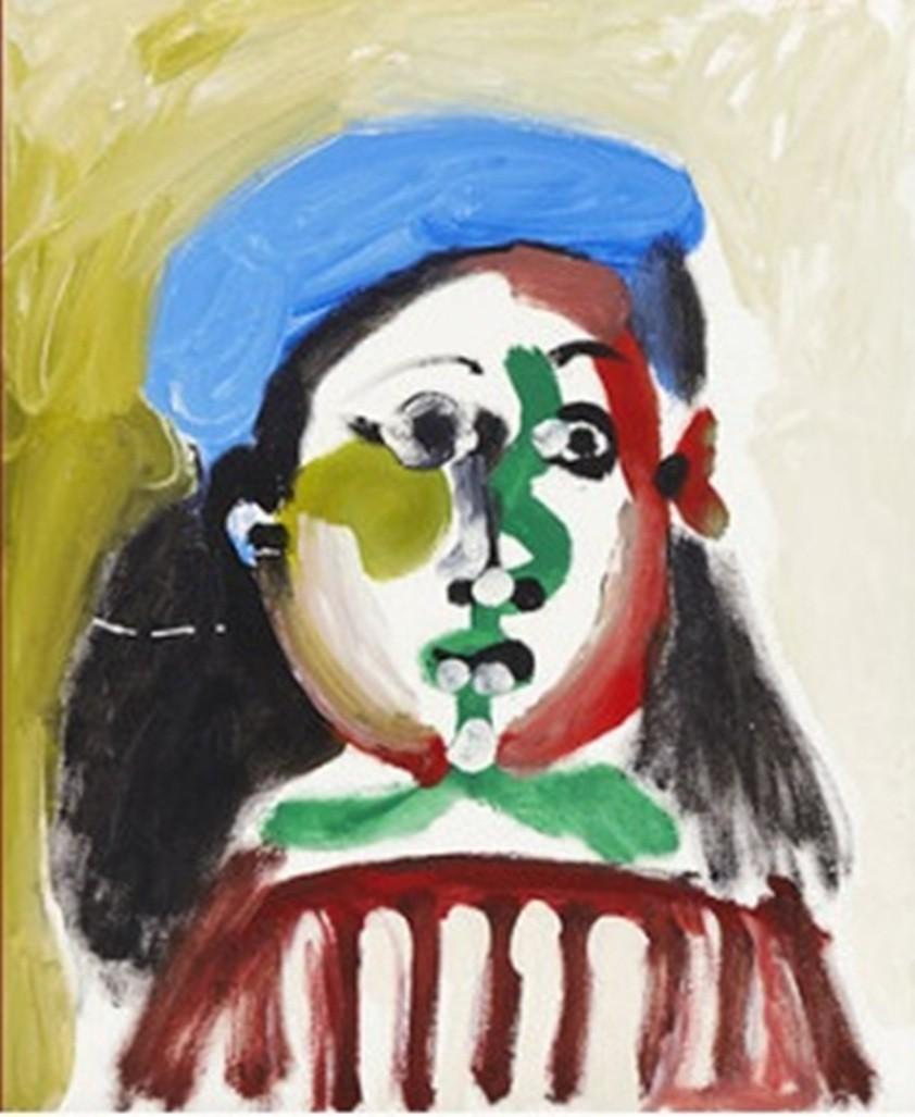 ВШвеции картина Пикассо была продана нааукционе за2 млн евро