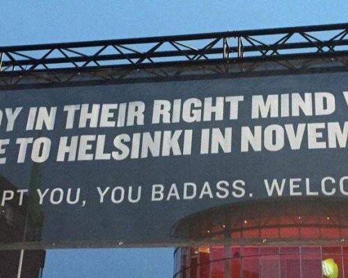 Лучший вмире туристический плакат создали вХельсинки