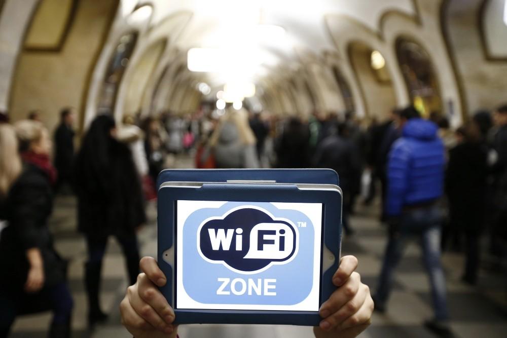 Каждый месяц 8,7 млн жителей столицы пользуются Wi-Fi вметро