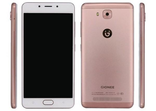 Новый смартфон Gionee F5