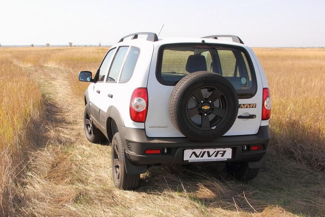 В РФ стартовали продажи спецверсии Шевроле Niva