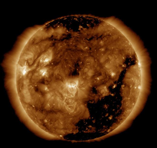 Очередная геомагнитная буря вновь накрыла Землю— Ученые