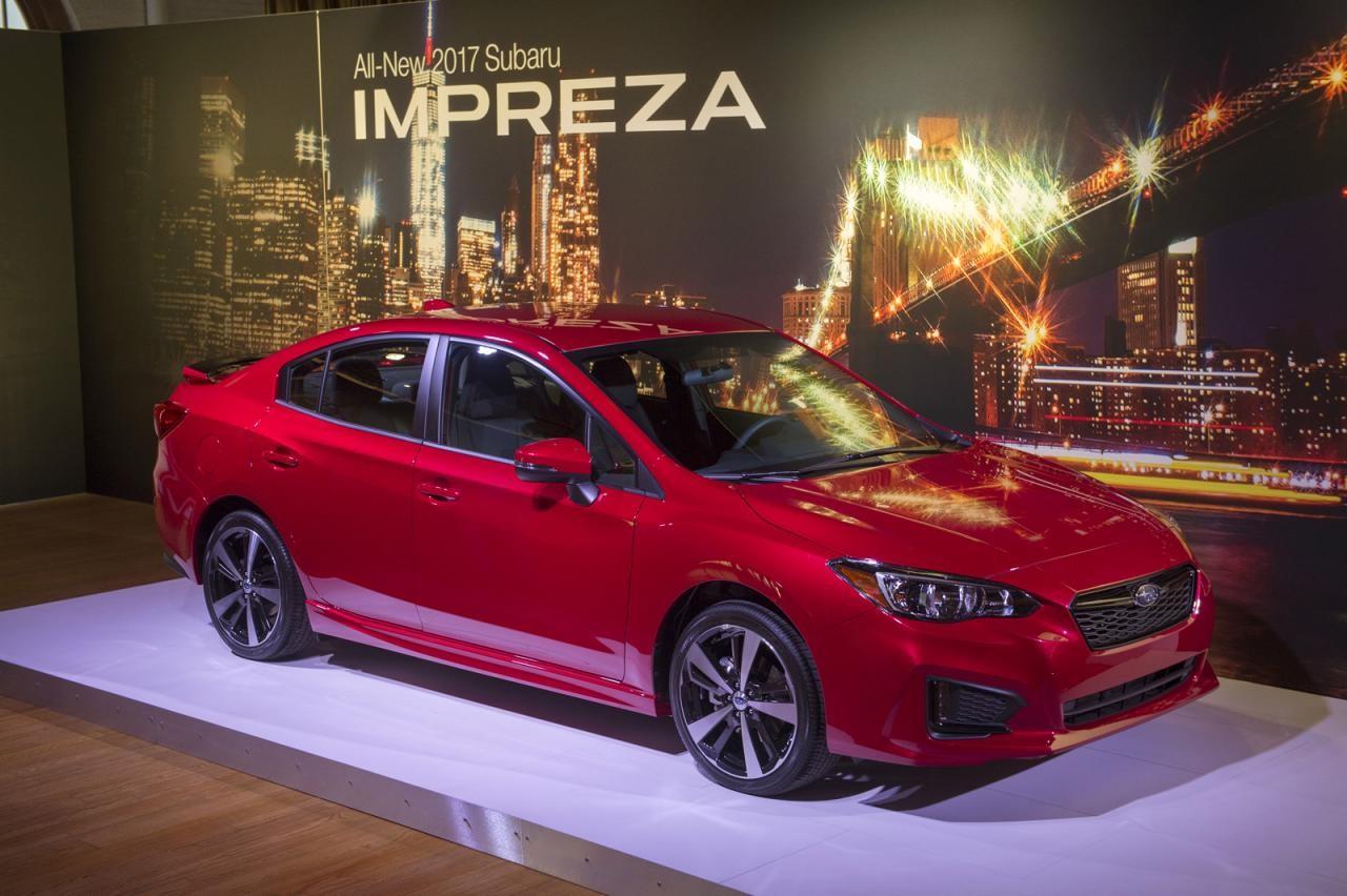 Субару Impreza назвали Автомобилем года вЯпонии