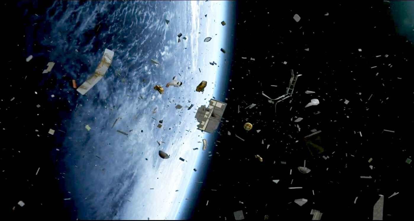 Япония очистит орбиту откосмического мусора при помощи огромного невода