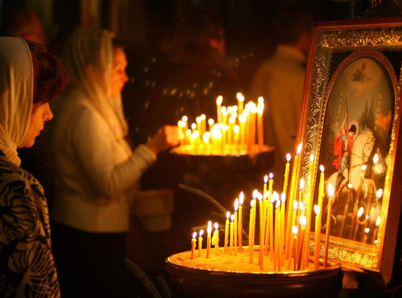 Первую в РФ церковь при коммерческом центре открыли вКрасноярске