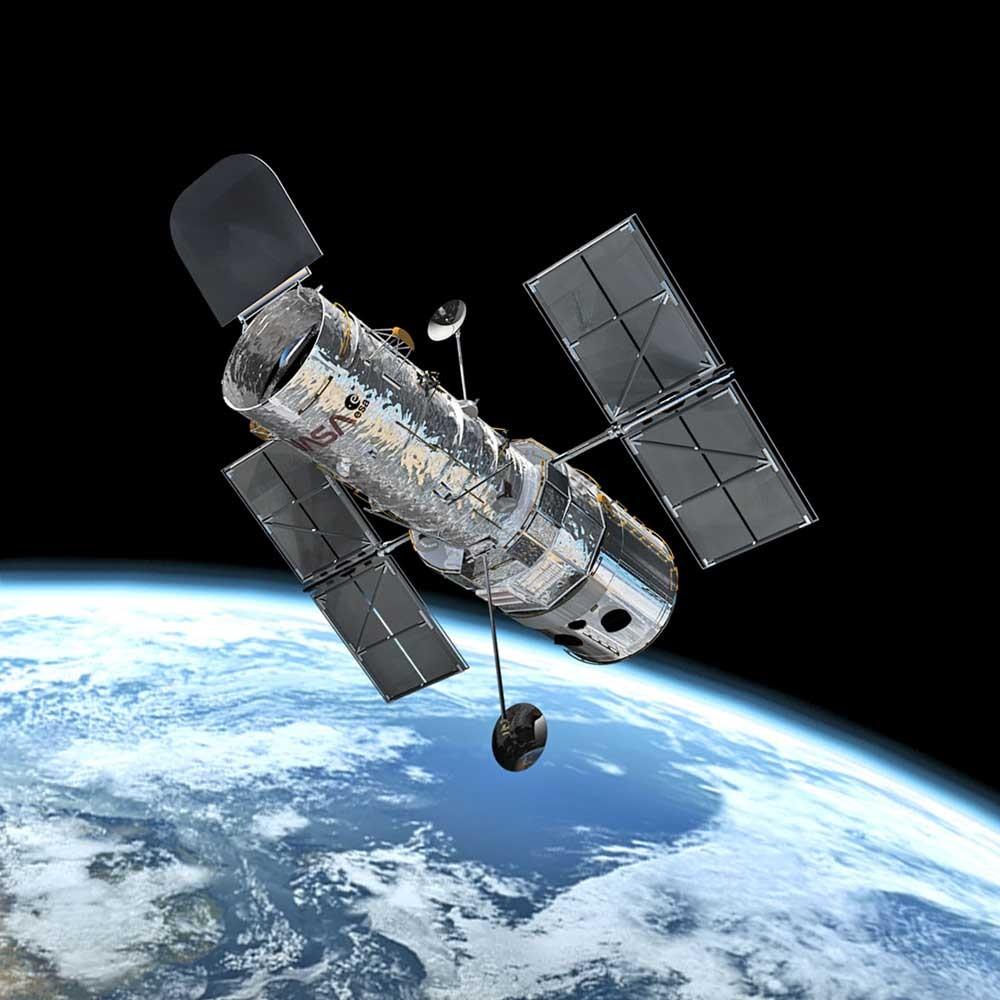 Орбитальный телескоп Хаббл в созвездии Девы обнаружил новую галактику