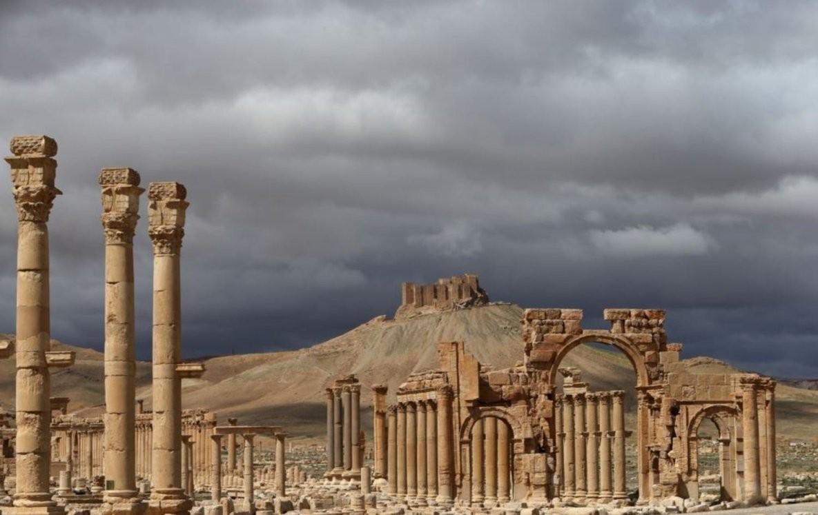Армия Сирии покинула центр Пальмиры