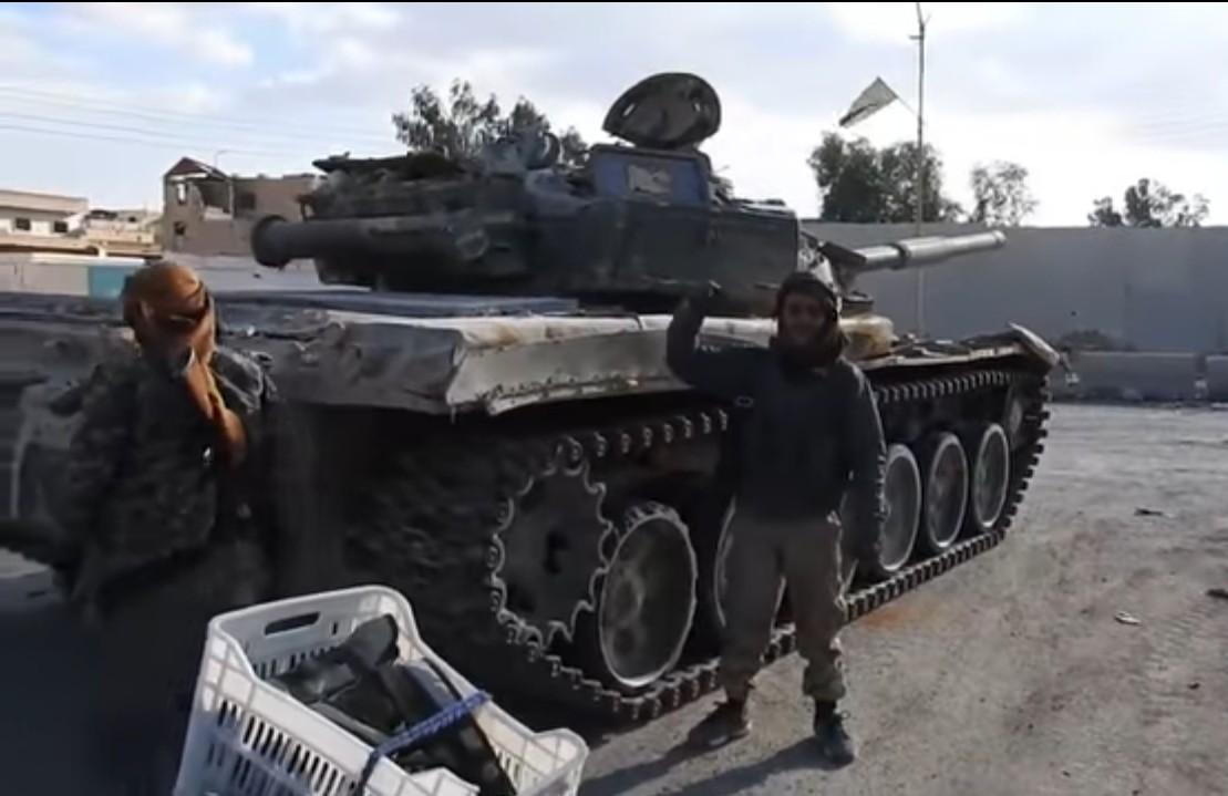 Размещено видео иззахваченной террористами Пальмиры