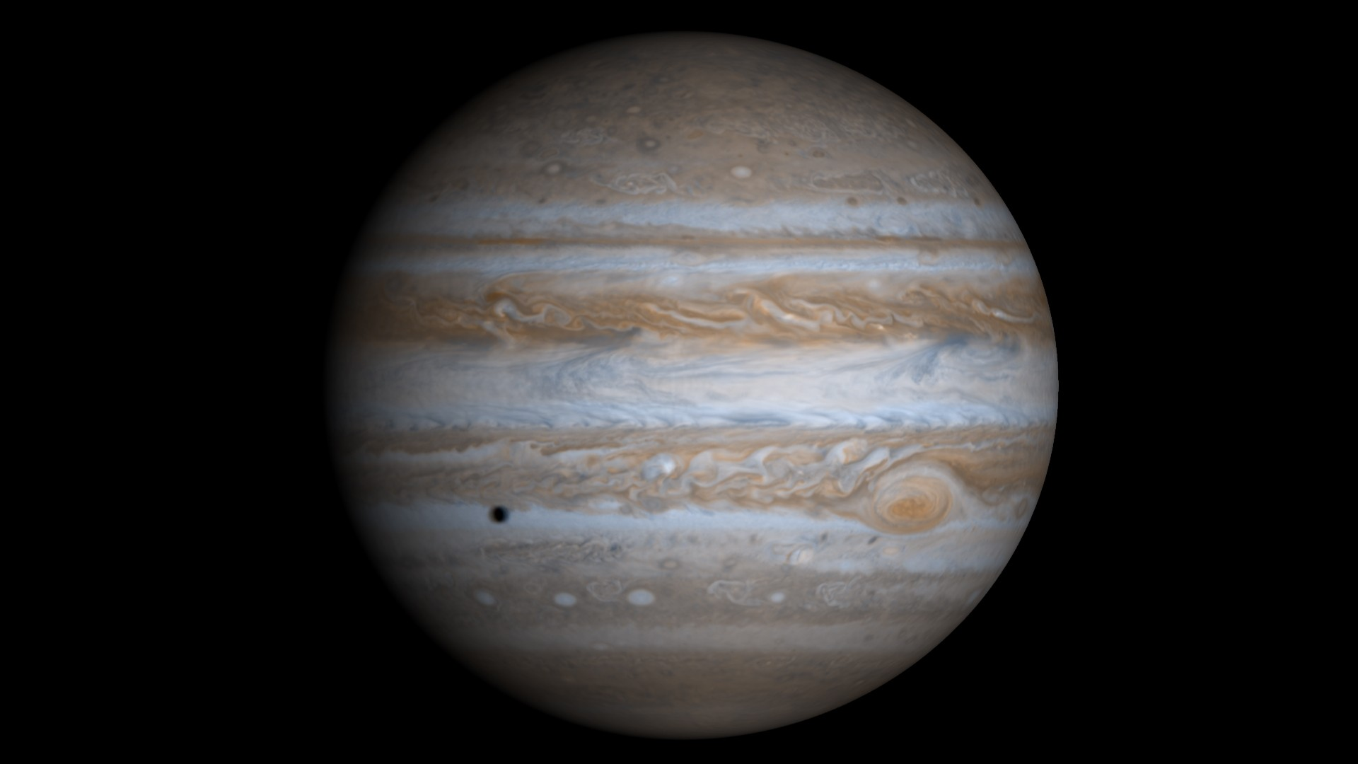 Зонд Juno сфотографировал «жемчужину» наЮпитере
