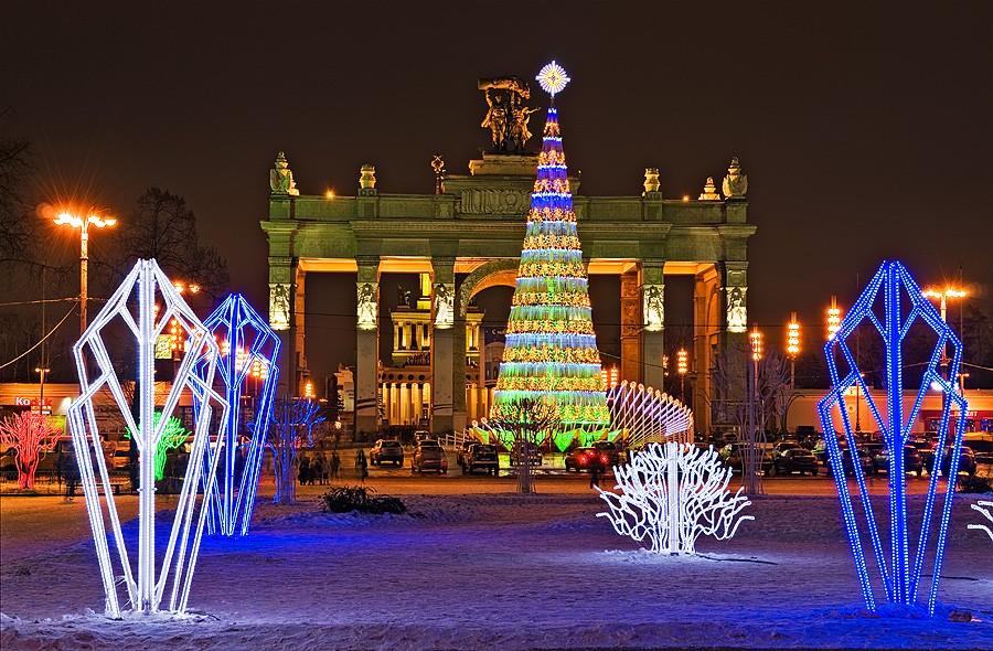 Центр столицы превратится в чудный лес впреддверии Нового года