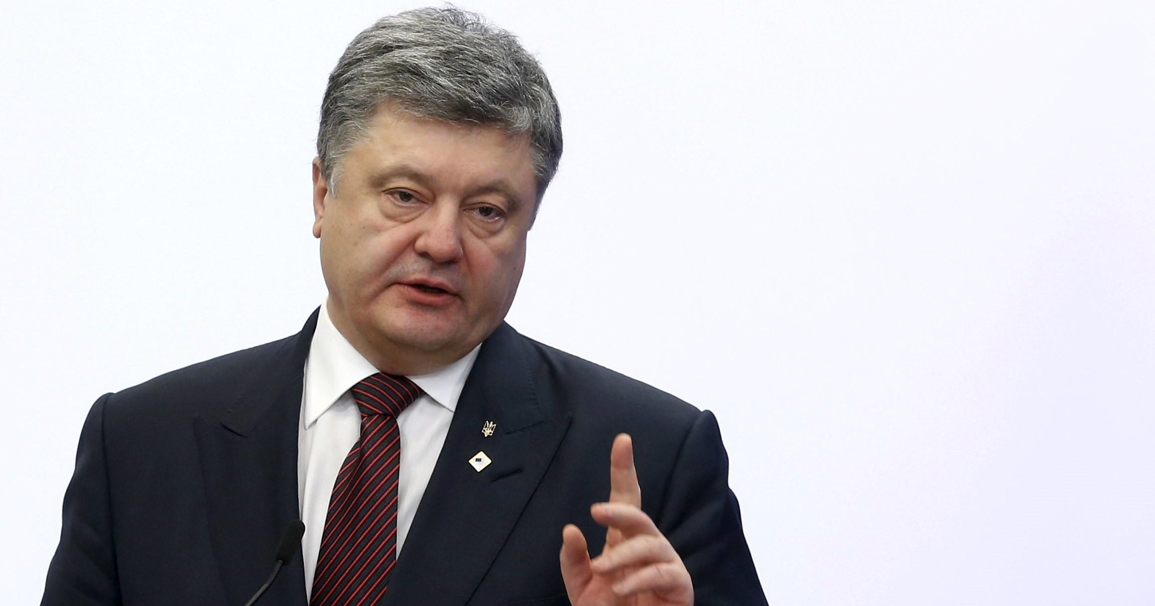 Порошенко сделал смелый прогноз обисходе дела против «Газпрома»