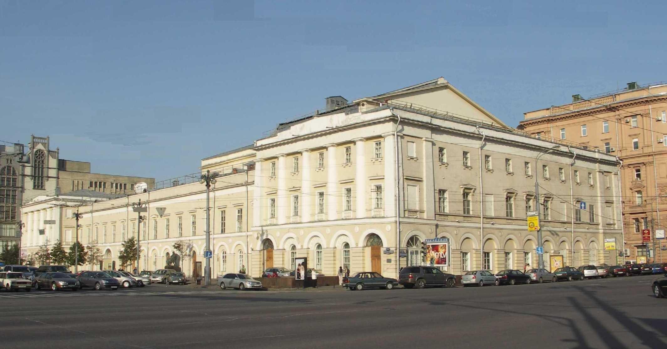 После реконструкции в столицеРФ откроется небольшой театр