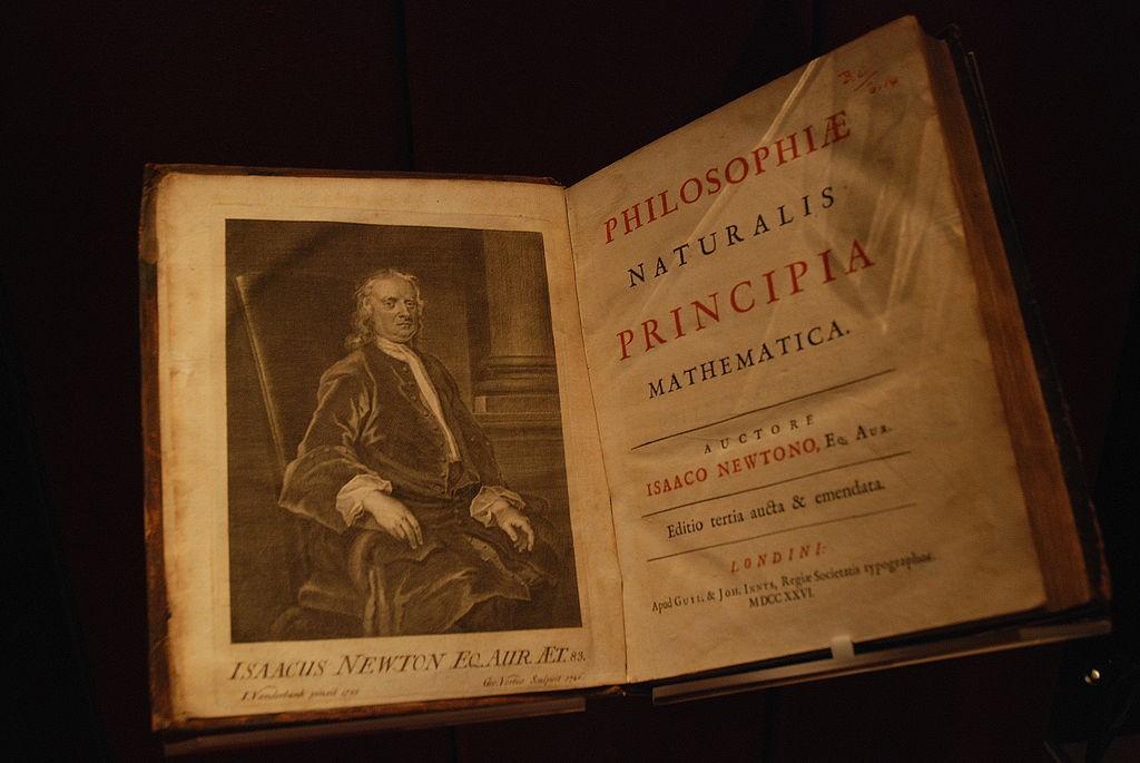 Книгу Исаака Ньютона пустили смолотка за $4 млн