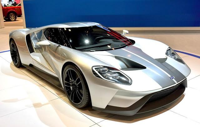 Концерн Форд запустил производство нового спорткараGT