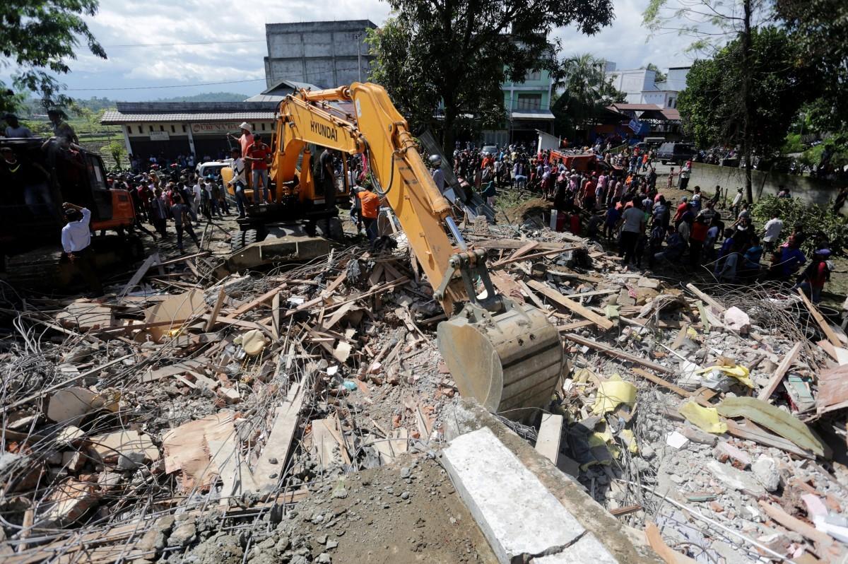 Врайоне Папуа-Новой Гвинеи случилось землетрясение, есть опасность цунами