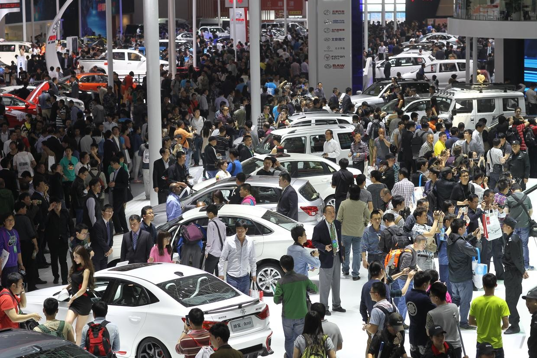 Рынок автомобилей Китая вырос на17% кконцу осени