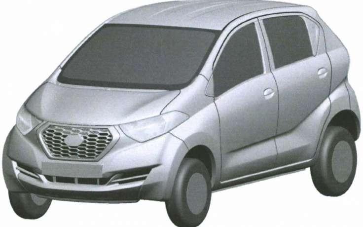 Ниссан запатентовал вРФ дизайн компактвэна Datsun redi-GO