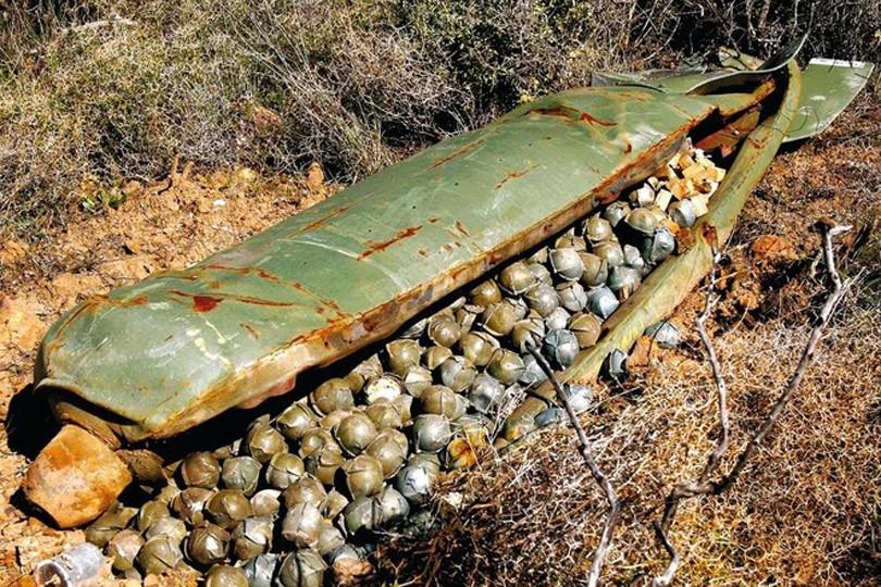 НаЙемен сбрасывали запрещенные бомбы английского производства