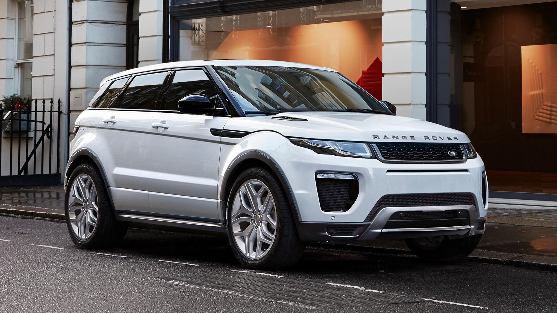 В Украине начались продажи Range Rover Evoque