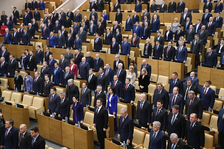 Государственная дума почтила память погибшего Андрея Карлова минутой молчания