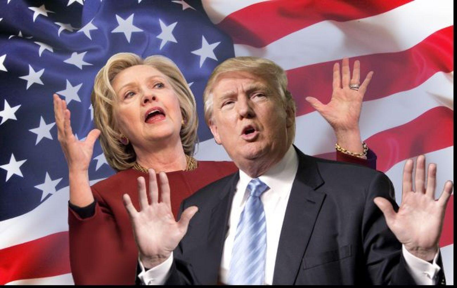 ЗаКлинтон проголосовали на3 млн. человек больше, чем заТрампа