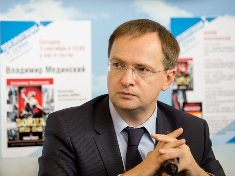 Владимир Мединский назван «Человеком года»