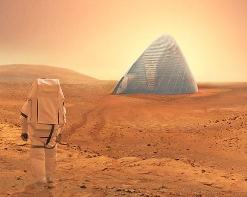 Учёные На Марсе возможна жизнь в'ледяных домах
