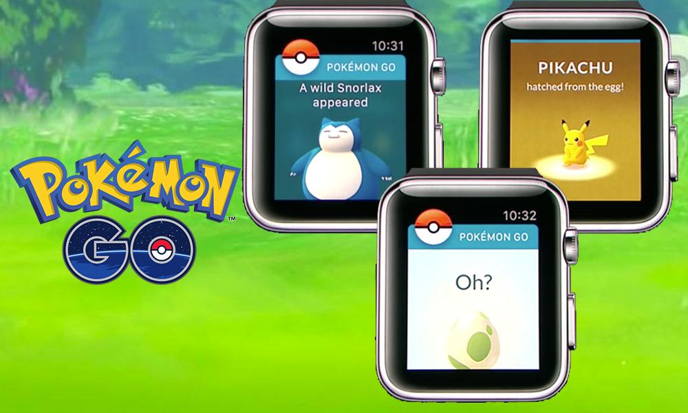 Пользующуюся популярностью игру Pokemon Goвыпустили на«умных часах» Apple
