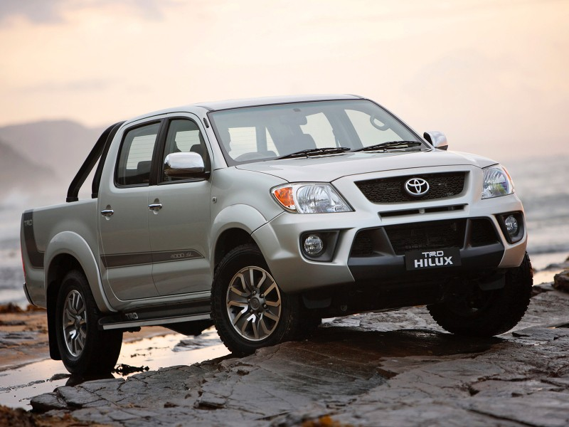Тойота Hilux вРФ лидирует нарынке подержанных пикапов